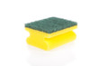 Scouring pad isolated on a white background
