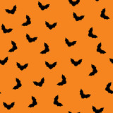 Halloween background with bats