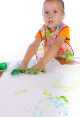 paint with finger paints