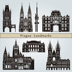 Prague landmarks and monuments