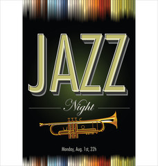 Jazz music background