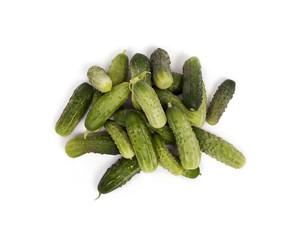 Organic Cucumber Pile