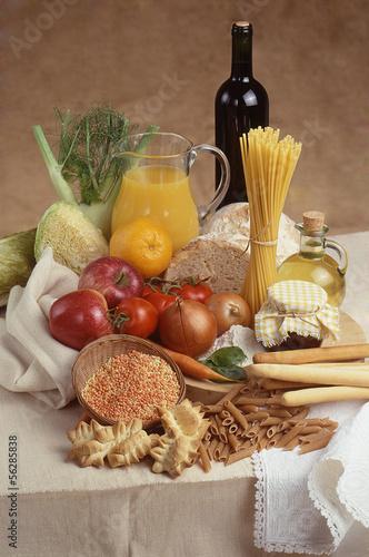 composizione di  prodotti alimentari