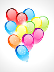 glossy balloon
