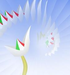 fiore tricolore