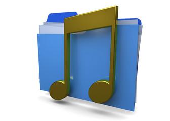 MUSIC FOLDER - 3D
