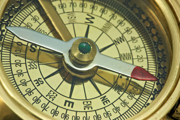 Antique compass.