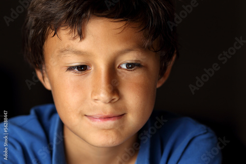 Portrait of young boy - Chiaroscuro Series