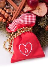 advent calendar christmas gift bag number five