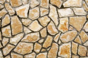 Background of wall with natural bricks