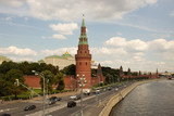 Moscow, view of the Kremlin. Russia