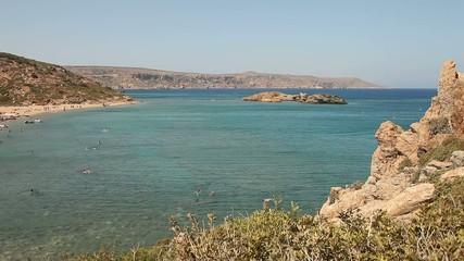 Strand Vai auf Kreta