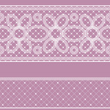 Seamless pattern with lace for design