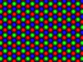 Lcd-sensor array - RGB