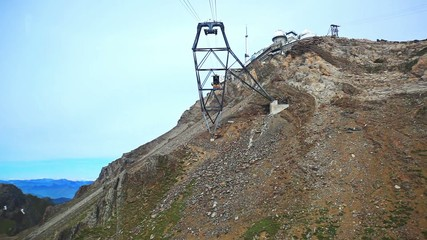 Cableway travel