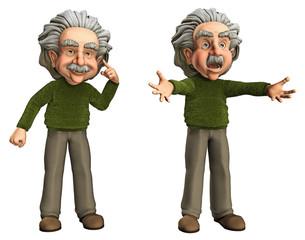 Lustiger Wissenschaftler 3