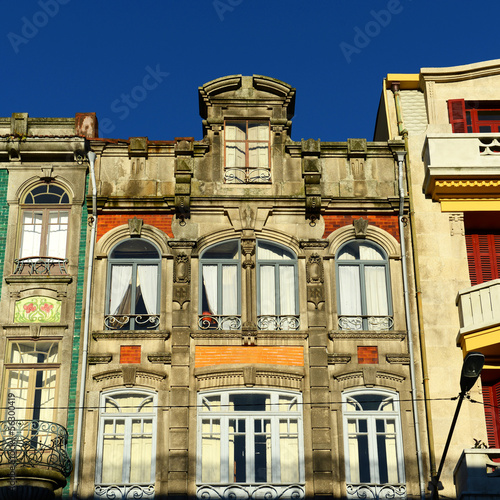 Porto Old residence Buildings in Porto, Portugal