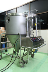 Spay dry jet in pharmaceutical