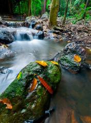 Nangrong Waterfall in Nakhon nayoki, Thailand