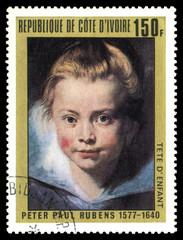 Rubens: Head of a Child
