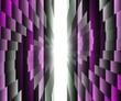 barriera di colori su sfondo di luce