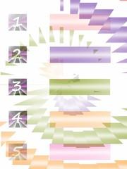 ordinativo con numeri e colori