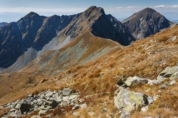 footpath in Western Tatras