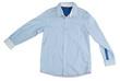 men's shirt isolated on white background
