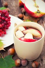 warming fruit tea