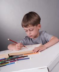 schoolboy, education concept