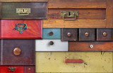 various old drawers - in utter secrecy