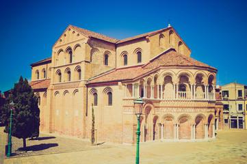 San Pietro Martire, Venice retro look