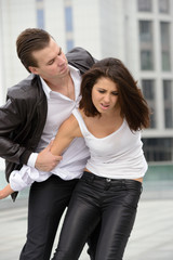 emotional fight between men and women
