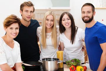 ein gutes team in der küche