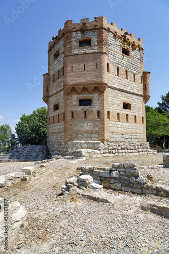 Monreal Tower in Tudela, Spain