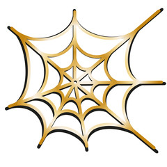 spider net vector background