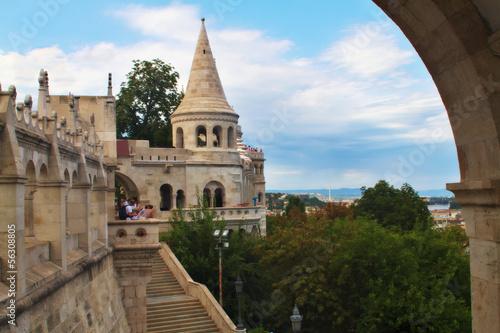 Fisherman's Bastion, Budapest Hungary