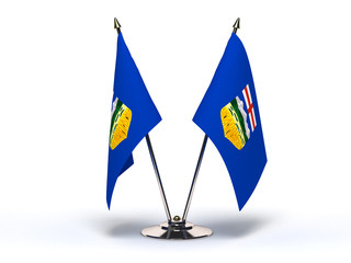 Miniature Flag of Alberta