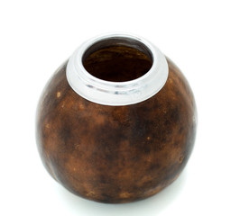 Calabash is isolated on a white background