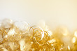 gold twinkle christmas background