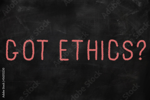 Code of ethics concept