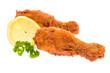 Hühnerbeine mit Zitrone und Petersilie