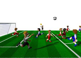 Fußball Regeln - Abseits