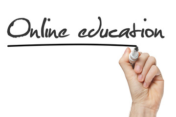 Online Education isolated