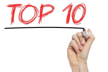 Top 10 phrase