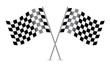 Checkered Flags (racing flags). Vector illustration. - 56315620