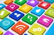 Social media keyboard