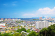 Fukuoka City in Japan