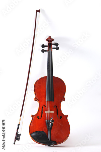 Violin classical music instrument
