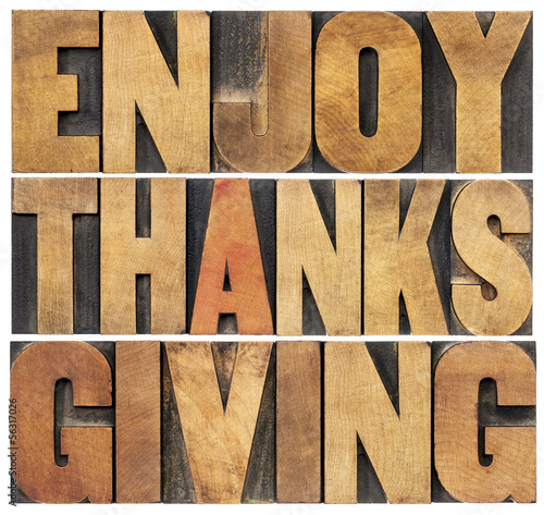 Enjoy Thanksgiving